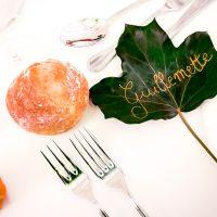 Photographie de mariage, décoration de table