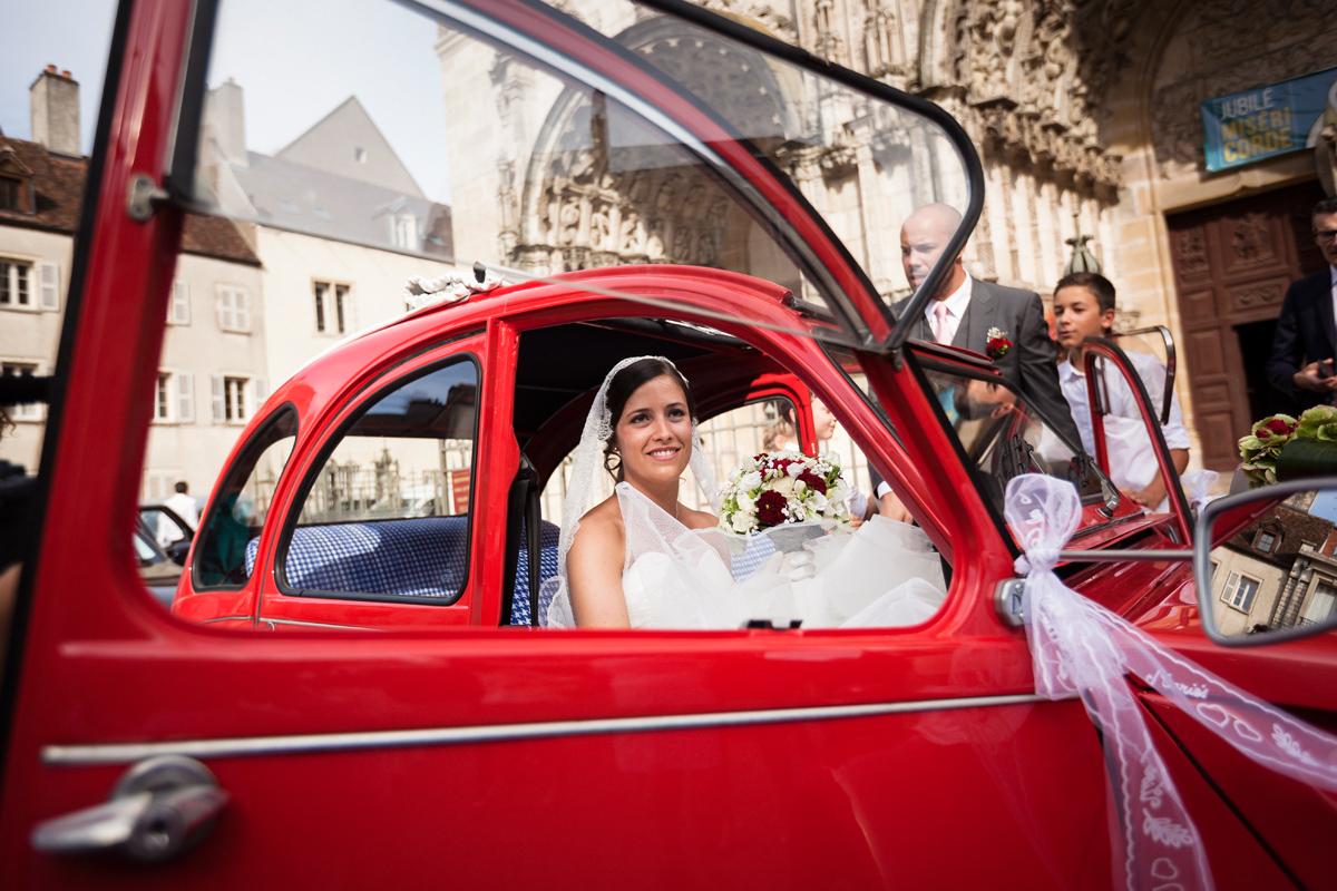 photographies d'un mariage à Dijon et au domaine de Pont de Pany