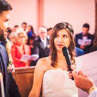 Échange des vœux des mariés