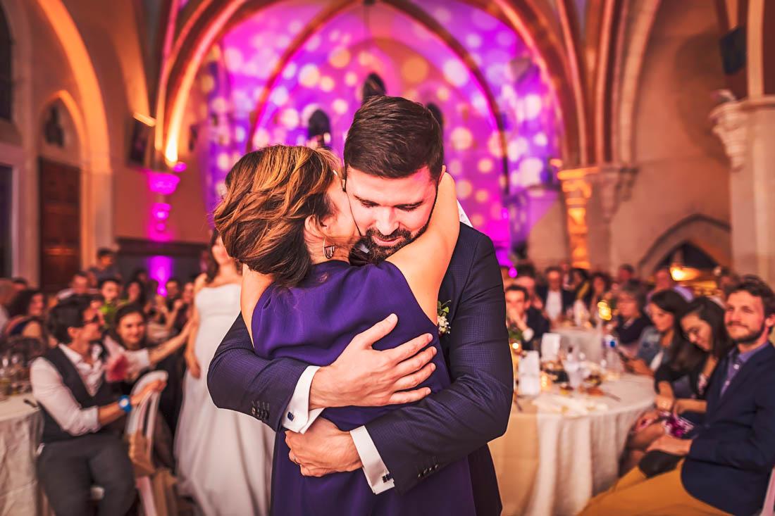 Emotion du marié au Prieuré de Bonavux