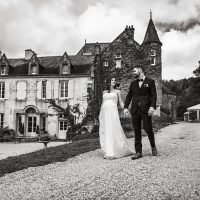 Les mariés au Prieuré de Bonvaux