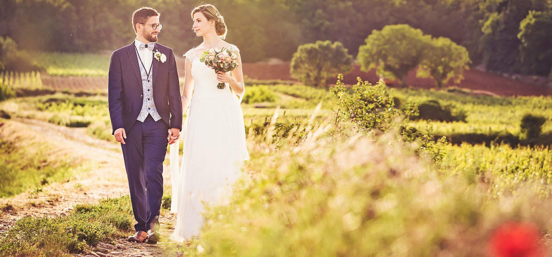 Couple dans les Vignes en Bourgogne