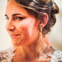 Boucle d'oreille de la mariée
