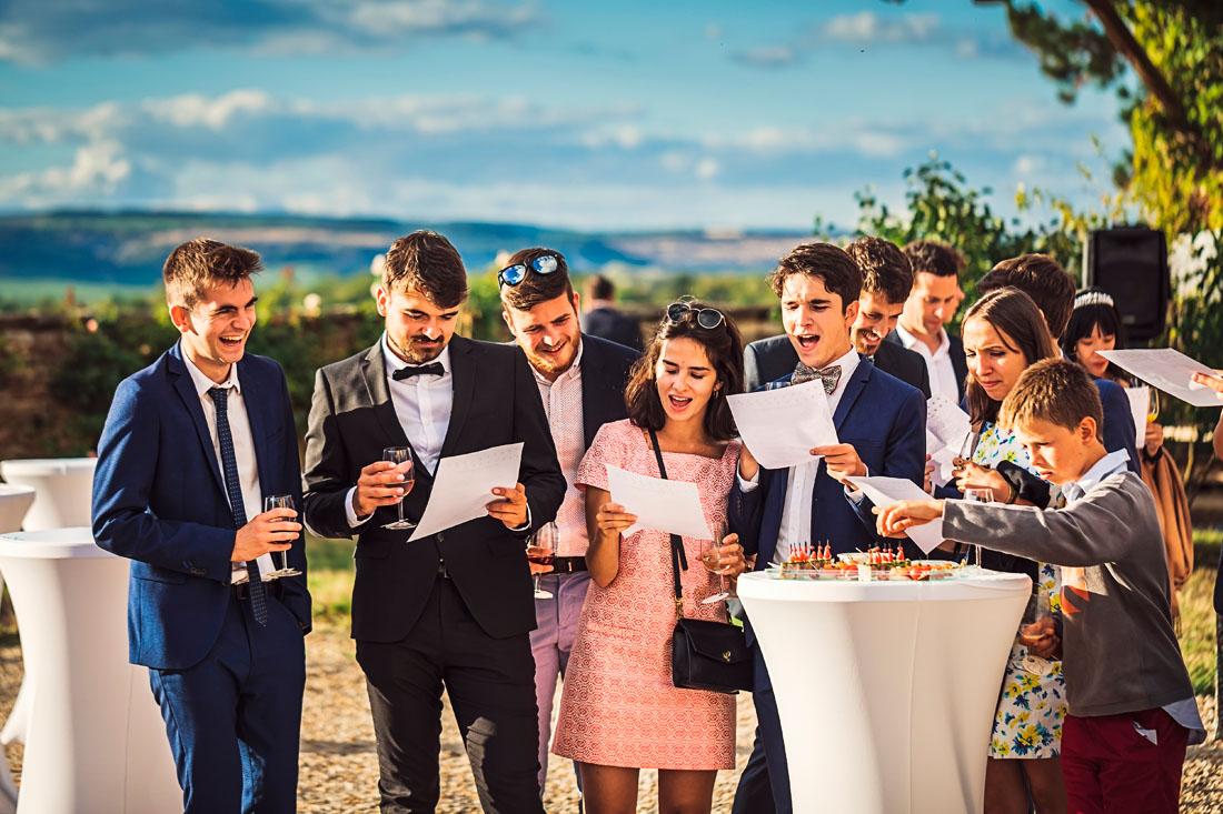 Chanson pour un mariage en Bourgogne
