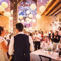 Invités au mariage en Bourgogne