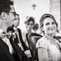 Mariés à l'église