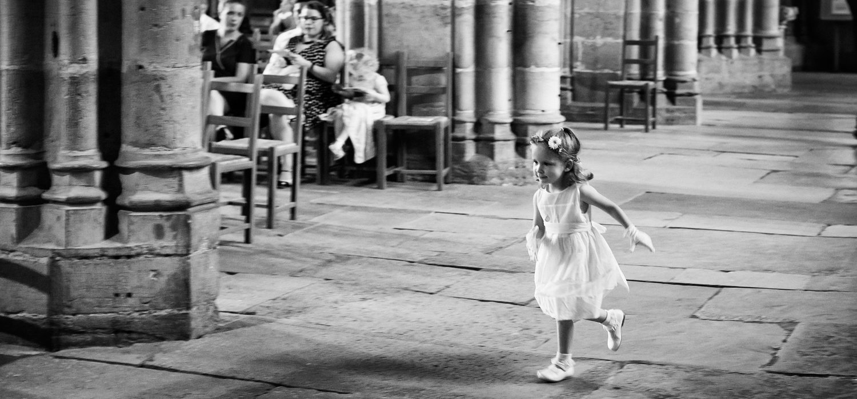 Photographies Alix et Matthieu, cérémonie religieuse, noir et blanc