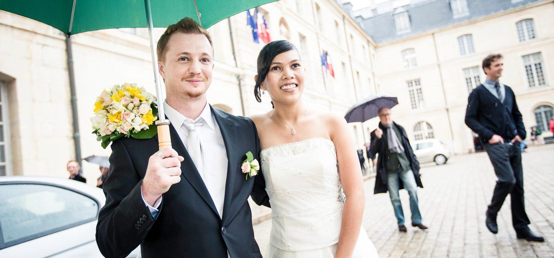 Photographies de mariage à Dijon, Shellane et Frederic