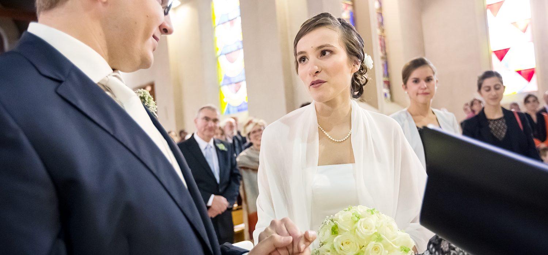 Photographies mariage Marion et Emmanuel à Dijon cérémonie religieuse
